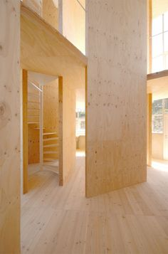 White Pine Staircase in Japan | Remodelista