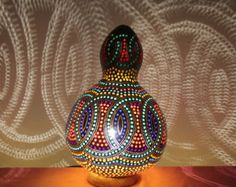 FREE SHIPPING Mod IMG013 Authentic Gourd by GourdLampCollection