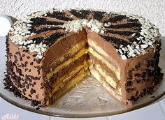 Kennedy torta Torte Recepti, Kolaci I Torte, Cake Cookies, Cupcake Cakes, Baking Recipes, Cookie Recipes, Fun Desserts, Dessert Recipes, Rodjendanske Torte
