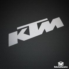 Pegatina KTM #KTM #pegatina #adhesivo #tuning #moto #TeleAdhesivo