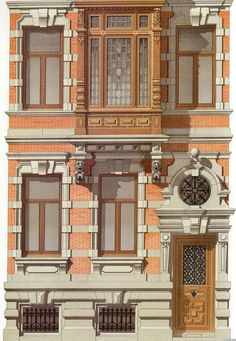 5 | Victorian Brick and Terra-Cotta Architecture - Викторианская кирпичная и терракотовая архитектура | ARTeveryday.org