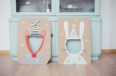 An adorable sweet birthday party for a two-year-old www.fraeulein-k-s An adorable sweet birthday party for a two-year-old www.fraeulein-k-s …. Diy Birthday, Birthday Parties, Birthday Ideas, Animal Birthday, Toddler Crafts, Crafts For Kids, Cardboard Crafts, Baby Party, Animal Party