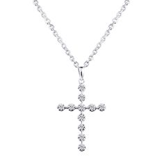 180e8a400 18K gold diamond pendant cross diamond necklace genuine custom rose gold  necklace pendant Cross Pendant,