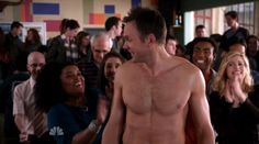 Joel Mchale Shirtless Community episode. How can I forget!?