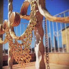 Shine blonde like a golden.  #aksesuar #takı #necklace #kolye