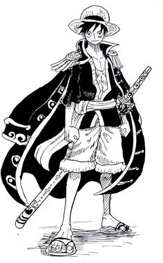 One Piece, Monkey D. Luffy. Rei