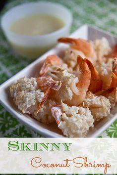 Skinny Coconut Shrimp {with Pina Colada Sauce!} | Healthy. Delicious.
