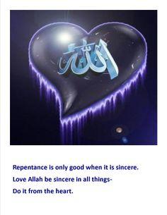 Quote on Repentance/ Islam/ Love for Allah Allah Photo, Kaligrafi Allah, Tribe Of Judah, Love In Islam, Islamic Wallpaper, Learn Quran, Islam Religion, Islamic Art Calligraphy, Islamic World