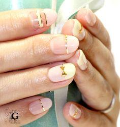 Sweet flat french nail #nailart