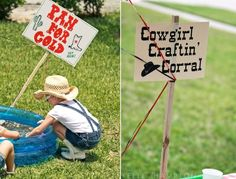 Activities for a cowgirl birthday party