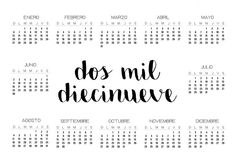 Calendario 2019 | Imprimibles Hobby, Ideas Para, Banner, Bullet Journal, Printables, Math, My Love, School, Crafts