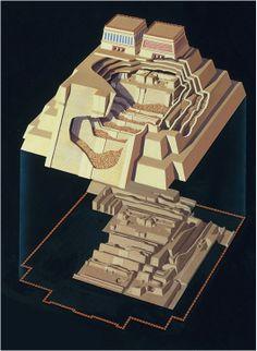 Templo Mayor (Main Temple). Tenochtitlan (modern Mexico City, Mexico). Mexica (Aztec). 1375–1520 C.E. Stone (temple); Ap Art History 250, History Images, Inca Empire, Inka, Mesoamerican, Fantasy Map, Indigenous Art, Ancient Civilizations, Art And Architecture