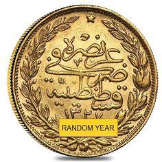 Turkey Gold 100 Kurush (Scruffy,Random Year)