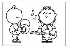 Frokkie en Lola maken muziek