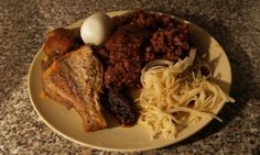 Waakye: A popular dish from Ghana made with rice and beans. Ghana's popular rice and beans dish that is both delicious and nutritionally rich.
