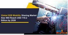 Global B2B Mobility Sharing Market Size Will Reach USD 119.2 Billion by 2026 #global #b2b #market #mobility #b2bmarketing #b2bnews #b2bbusiness Activities, Marketing, Business, Store, Business Illustration