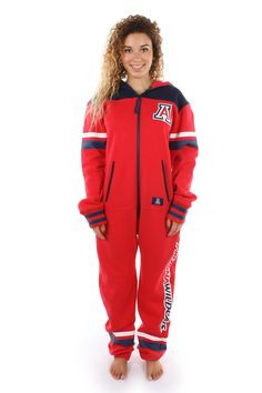 The University of Arizona jumpsuit is a powerful statement of loyalty towards your great school!
