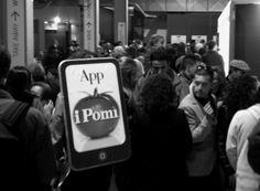 La promozione dell'#app iPomì durante #Golosaria 2013! #food