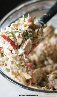Must try! Fajita chicken salad recipe. I can't believe this is Paleo and Whole30! YUM!