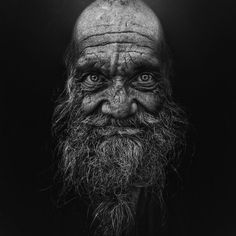 Project of Photographer Lee Jeffries called LOST ANGELS. Portraits of homeless people.