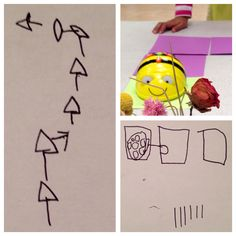 Kindergarteners invent their own programs for BeeBot robot! Visit our Tangible Tech Collaborative Pinterest Boards for hands-on activities in STEM/STEAM & K-5 Computer Science (Via the Tangible Tech Collaborative)