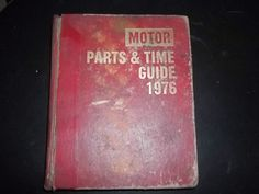Motor Parts & Time Guide 1976