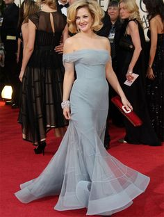 Drew Barrymore in Christian Dior