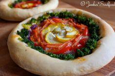 Regenbogen Pizza von Jankes Soulfood