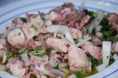 Si vous cherchez une salade de poulpe, nous avons la recette parfaite pour vous. Essayez cette salade de poulpe simple et délicieuse!