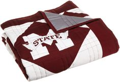 NCAA Mississippi State Bulldogs Patchwork Quilt