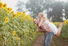 Fun Sunflower shoot in CT. Abby Caldwell Photography