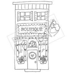 Boutique Buildings: The Boutique (Digi-Stamp)