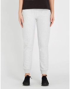 2a039722 Champion Logo-embroidered relaxed-fit cotton-blend jogging bottoms Champion  Logo, Jogging