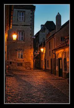 Golden Line Street - Prague