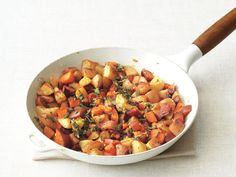 Two-Potato Home Fries #FNMag #myplate #veggies