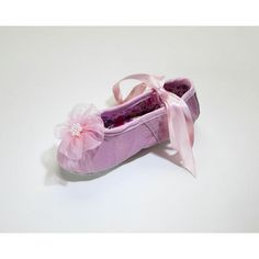 Organza Rhinestone Flower Ballet Slippers in  Pink include beautiful satin ribbon ties that wrap around your little one's ankles, elastic ankle straps for more security, and a drawstring tie on the front. The Organza Flower and pearls add pure elegance an