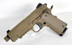 """American Tactical FX45-K 1911 Tactical Flat Dark Earth .45 ACP 4.75"""" *NIB*. ATIGFX45KDE. A tactical-style 1911 pistol imported by Save those thumbs & bucks w/ free shipping on this magloader I purchased mine http://www.amazon.com/shops/raeind   No more leaving the last round out because it is too hard to get in. And you will load them faster and easier, to maximize your shooting enjoyment."""