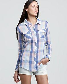 676acf8fe329 Rails Shirt - Taylor Gauze