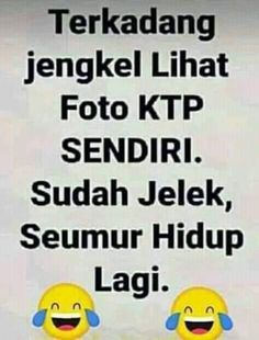 W banget yakan😂 Quotes Lucu, Quotes Galau, Jokes Quotes, Life Quotes, Memes Funny Faces, Funny Jokes, Annoyed Quotes, Funny Caricatures, Cartoon Jokes