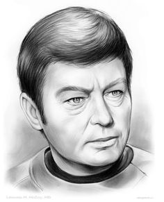 Dr. Leonard Bones McCoy - Star Trek by greg chapin