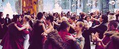 The Yule Ball at Hogwarts