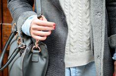 #bag #pull #denim #white #nails #fashionblogger #streetstyle #inspiration #michaelkors #adele1961
