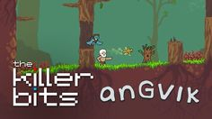 Toby straps on his armor and heads out on an adventure in Angvik | #Angvik #roguelike #IndieGames #gaming #RoadToRezzed