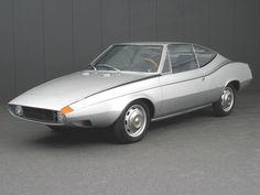 DAF 55 Siluro designed by Michelotti in 1968