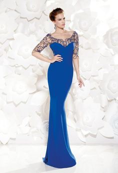 Reception and Evening Dresses by Tarik Ediz 37e5b9f4a6cf