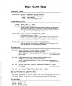 Can i please have some Resume advice?