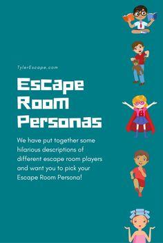 Escape Room Personas