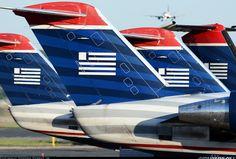 US Airways Express (Air Wisconsin) Canadair CL-600-2B19 Regional Jet CRJ-200LR @ DCA