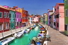 Colorful Burano #Italy