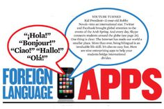 TECH Apps: Foreign Language   Teaching a foreign language? Nine great apps to help your students out!